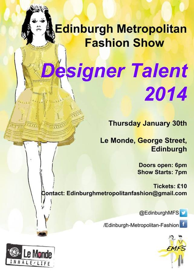 Edinburgh Metropolitan Fashion Show 2014 - Designer Talent