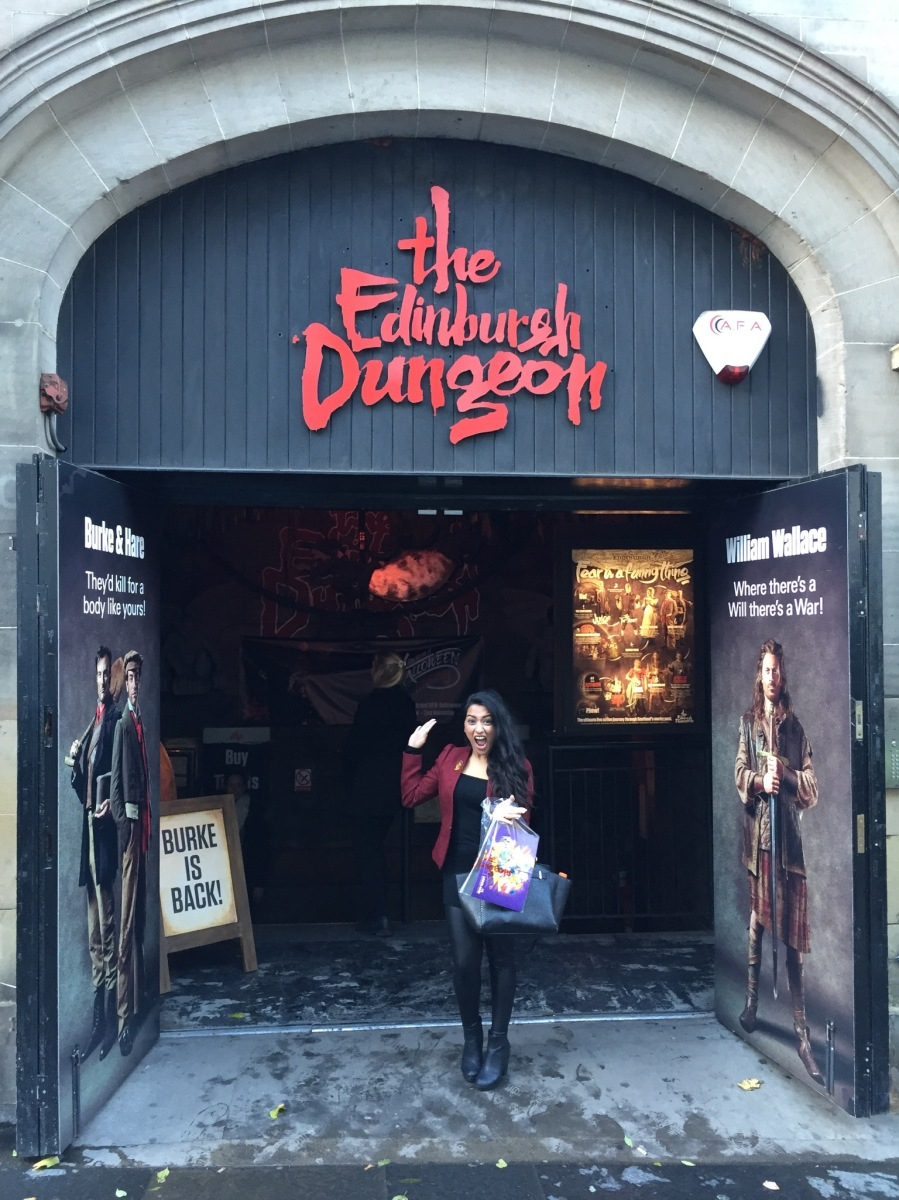 Halloween at the Edinburgh Dungeons 2014