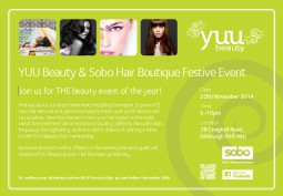YUU Beauty & Sobo Edinburgh Festive Event (1)