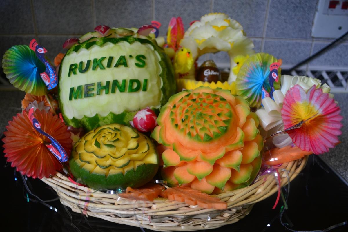 #RukiaWedding2015 Mehndi OOTD