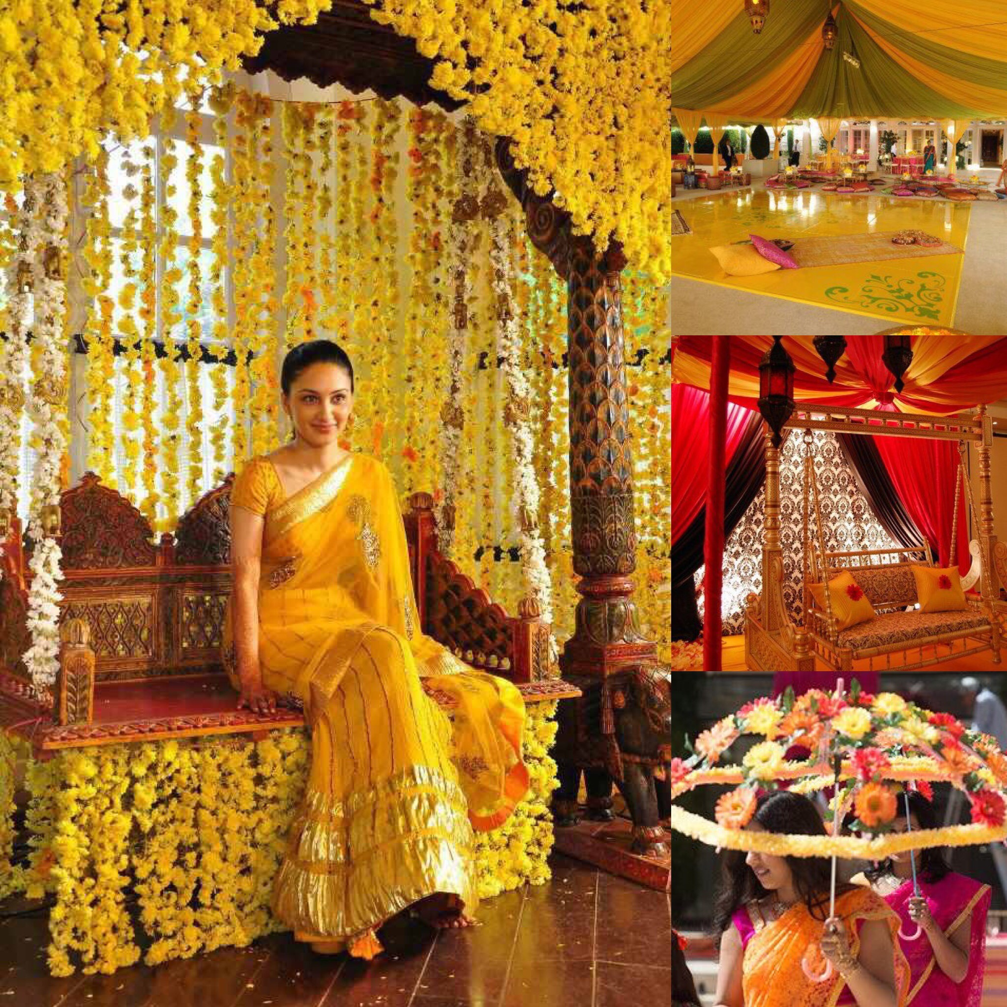 Haldi Theme The Scottish Asian Wedding Directory Dream To Inspire