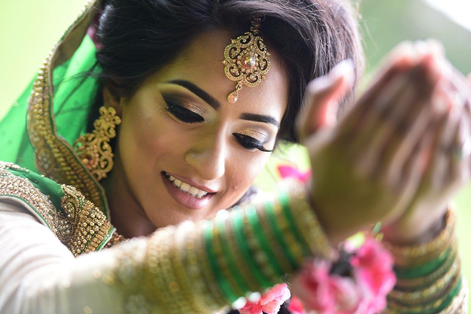 Mehndi Makeup And Hairstyle : Daysofascottishasianbride lookbook mehndi dream to inspire