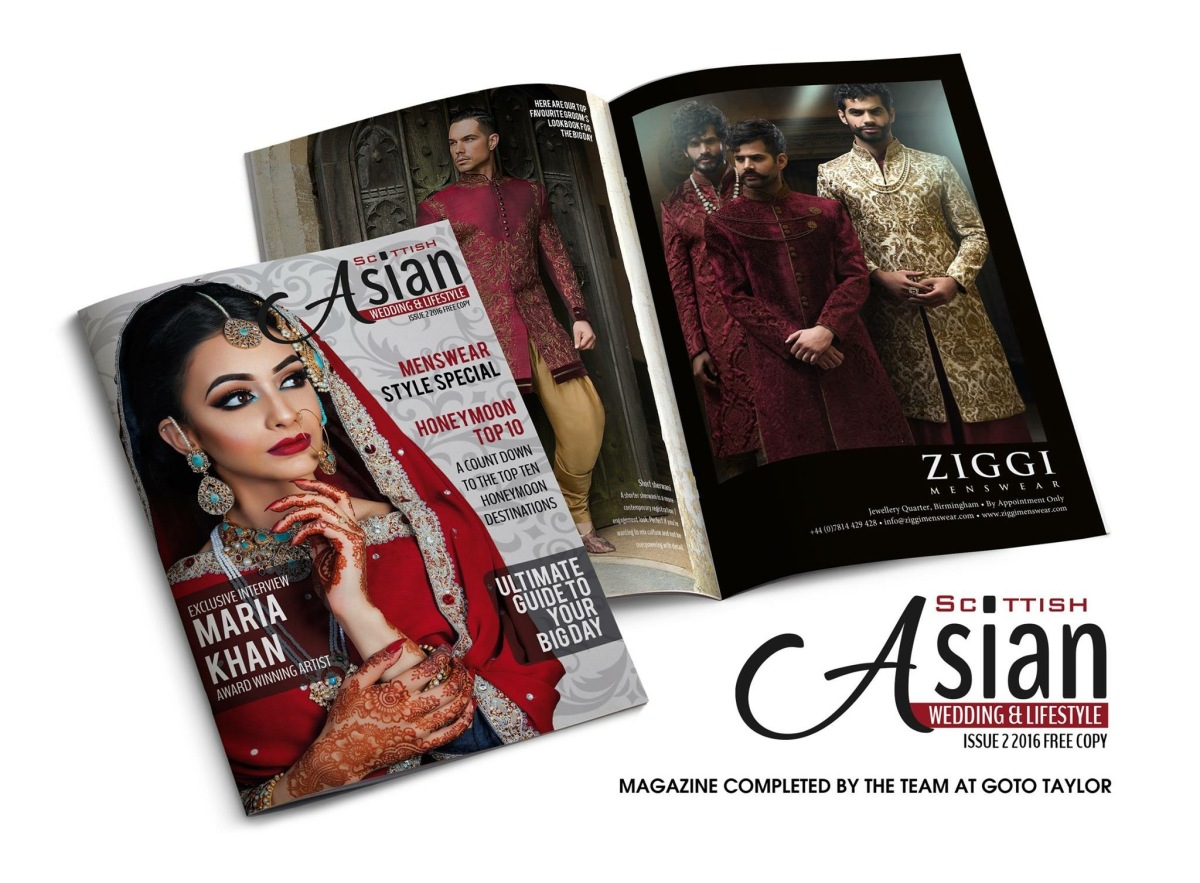 The Scottish Asian Wedding and Lifestyle Directory 2017