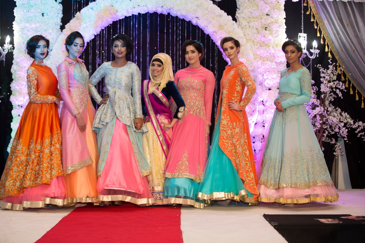 Emma Rahman at the Venue Central's Wedding Exhibition and Fashion Show 2017