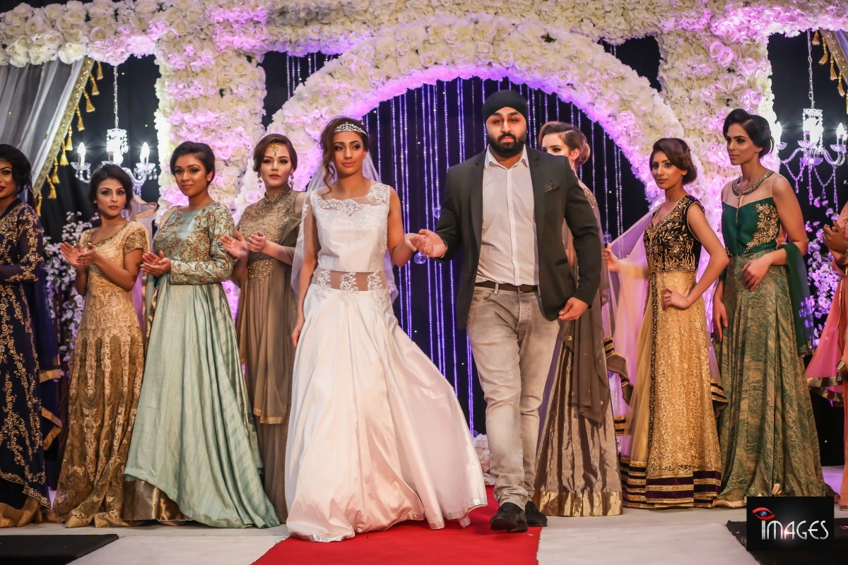 Zardozi London at Venue Central's Wedding Exhibition and Fashion Show 2017 -