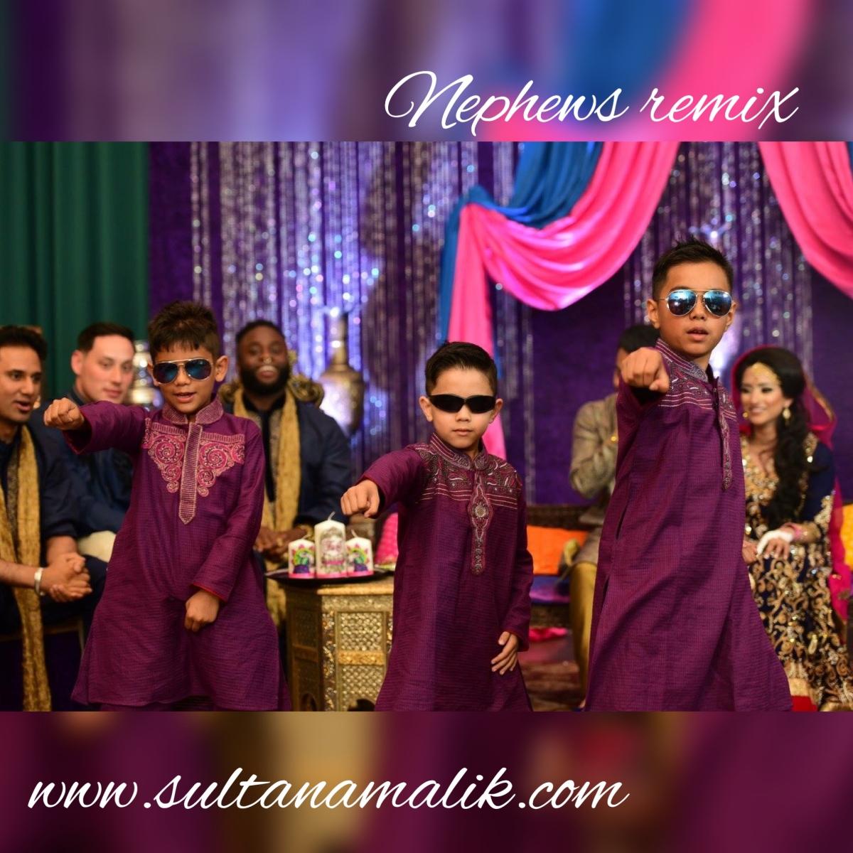 Sultana's Mehndi #100daysofaScottishAsianBride – Nephews Dance