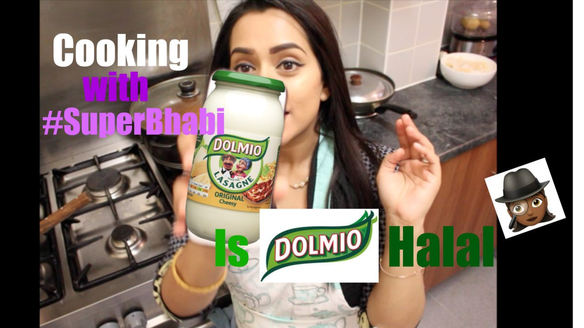 Cooking with #SuperBhabi - is Dolmio Halal?